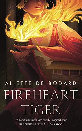 Book cover - Fireheart Tiger by Aliette de Bodard