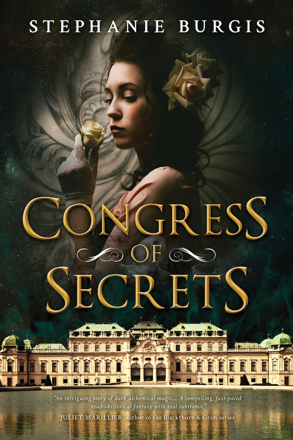 Cover of Congress of Secrets by Stephanie Burgis