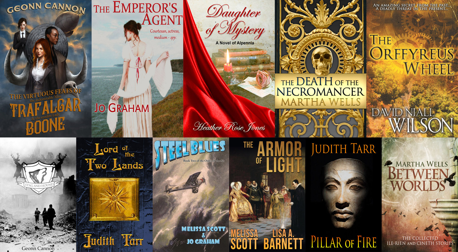 Historic Fantasy StoryBundle book covers