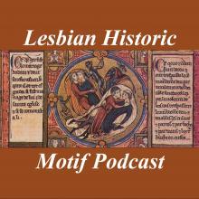 Lesbian Historic Motif Podcast logo - 2020